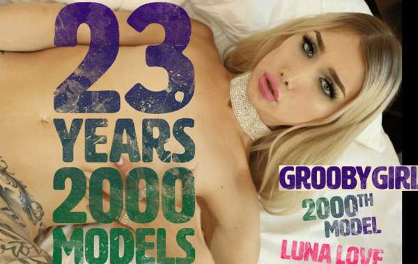 Marks Milestone with 2,000th Model on GroobyGirls.com
