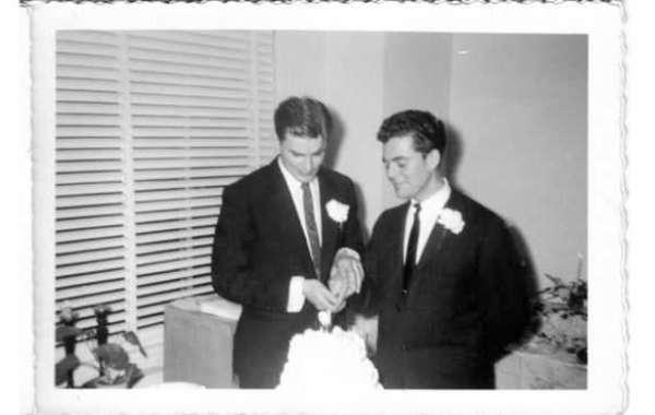 Mystery Photos of Gay Wedding In 1957