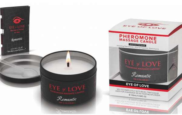 Eye of Love Offers Pheromone Perfum Sample With Purchasing Candle
